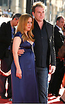 """Actress Gillian Anderson and Mark Griffiths arrive at the The World Premiere of """"The X-Files: I Want To Believe"""" at Mann's Grauman Chinese Theatre on July 23, 2008 in Hollywood, California."""