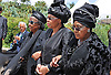 Qunu, South Africa: 15.12.2013: STATE FUNERAL FOR NELSON MANDELA<br /> GARCA MACEL (Mandela's widow) AND FORMER WIFE WINNIW MANDELA <br /> walk hand-in-hand tp the burial ceremony for former President Nelson Mandela in Qunu, Eastern Cape, South Africa<br /> Mandatory Credit Photo: &copy;Jiyane-GCIS/NEWSPIX INTERNATIONAL<br /> <br /> **ALL FEES PAYABLE TO: &quot;NEWSPIX INTERNATIONAL&quot;**<br /> <br /> IMMEDIATE CONFIRMATION OF USAGE REQUIRED:<br /> Newspix International, 31 Chinnery Hill, Bishop's Stortford, ENGLAND CM23 3PS<br /> Tel:+441279 324672  ; Fax: +441279656877<br /> Mobile:  07775681153<br /> e-mail: info@newspixinternational.co.uk