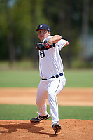 Detroit Tigers pitcher Paul Richan (24) during an Instructional League game against the Philadelphia Phillies on September 19, 2019 at Tigertown in Lakeland, Florida.  (Mike Janes/Four Seam Images)