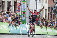 Jasper Stuyven (BEL/Trek Segafredo) winning the final stage in Geraardsbergen<br /> <br /> Binckbank Tour 2017 (UCI World Tour)<br /> Stage 7: Essen (BE) > Geraardsbergen (BE) 191km