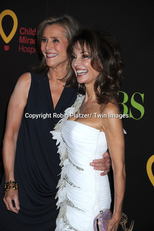 Meredith Vieira and Susan Lucci  arriving at the 38th Annual Daytime Emmy Awards  on June 19, 2011 at The Las Vegas Hilton in Las Vegas Nevada. ..