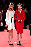 Sharon Stone <br /> Roma 02/12/2018. Palazzo dei Congressi. L'attrice Sharon Stone riceve la croce d'oro al merito dalla Croce Rossa Italiana durante il Jump 2018.<br /> Rome July 30th 2018. Actress Sharon Stone receives the Gold Medal of Merit from Italian Red Cross during the event Jump 2018.<br /> Foto Samantha Zucchi Insidefoto