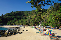 Thailand, Phuket, Laem Sing Beach at west coast