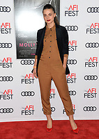 Veranika Irbis at the AFI Fest 2017 Closing Night premiere of &quot;Molly's Game&quot; at the TCL Chinese Theatre, Los Angeles 16 Nov. 2017<br /> Picture: Paul Smith/Featureflash/SilverHub 0208 004 5359 sales@silverhubmedia.com
