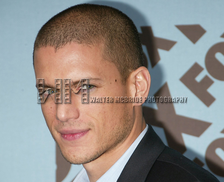 Wentworth Miller attending the Fox Television UpFront Announcements Party at the Boat House in Central Park, New York City.<br /> May 19, 2005.
