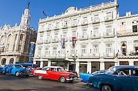 HAVANA, CUBA, 23.07.2015 –  Vista da avenida Paseo del Prado na cidade de Havana em Cuba. (Foto: Paulo Lisboa/Brazil Photo Press)