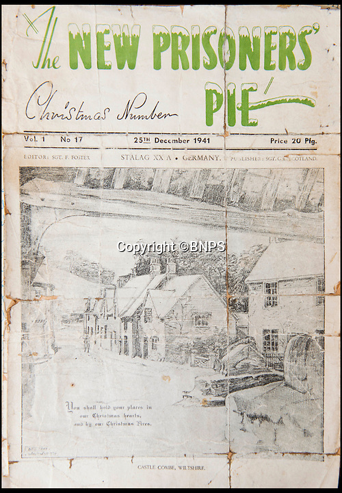 BNPS.co.uk (01202 558833)<br /> Pic: TomWren/BNPS<br /> <br /> The paper that Sergeant Frederick Foster became editor of to gain access to a German typewriter so that he could forge documents.<br /> <br /> The poignant story of how a British Prisoner of War paid with his life for turning back for a comrade during an audacious escape has been uncovered in an old suitcase.<br /> <br /> Frederick Foster and Antony Coulthard had travelled 1,000 miles across Poland and Germany before one of them was caught by a German guard on the Swiss border.<br /> <br /> Coulthard, who was free, went back for him and was also caught. He went on to die on a 'death march' towards the end of the war. <br /> <br /> Now Sgt Foster's son Steve is turning the epic escape into a book.