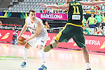 07.09.2014. Barcelona, Spain. 2014 FIBA Basketball World Cup, round of 16. Picture show K. Penney  in action during game between New Zealand   v  Lithuania at Palau St. Jordi