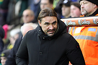 Norwich City manager Daniel Farke during Norwich City vs Millwall, Sky Bet EFL Championship Football at Carrow Road on 1st January 2018