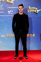 Uri Sabat attends to Super Lopez premiere at Capitol cinema in Madrid, Spain. November 21, 2018. (ALTERPHOTOS/A. Perez Meca) /NortePhoto NORTEPHOTOMEXICO