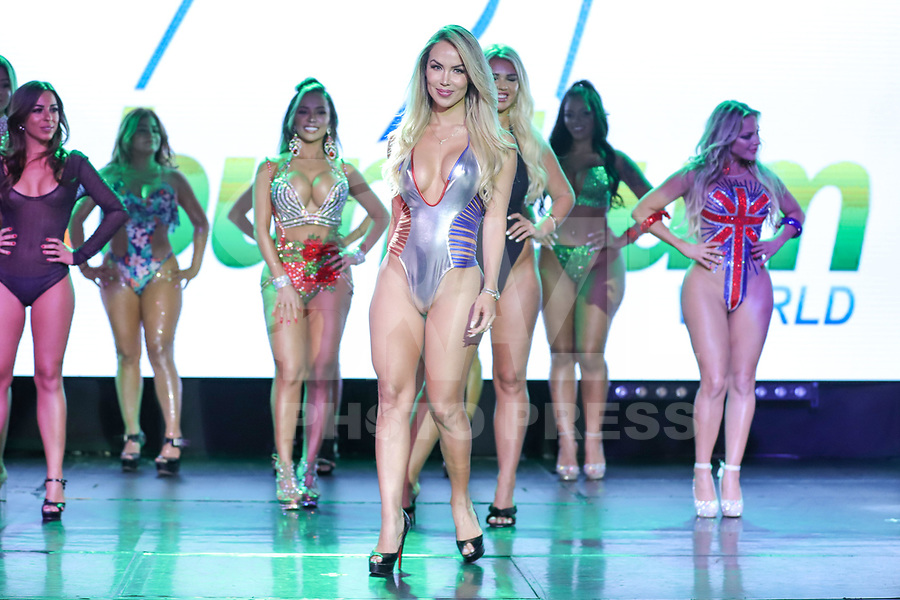 CIDADE DO MÉXICO, MÉXICO, 30.09.2019 - MISS-BUMBUM - Rayane Laura durante a final do concurso Miss Bumbum World na  ForoTotal Play na Cidade do México na capital mexicana nesta segunda-feira, 30.  (Foto: William Volcov/Brazil Photo Press)