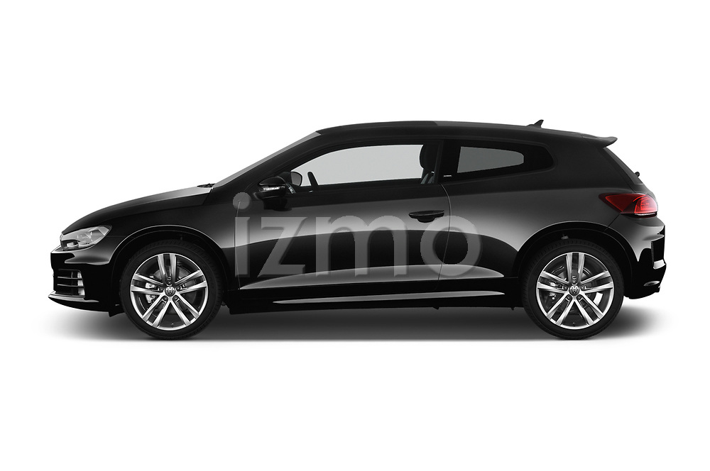 Car driver side profile view of a 2017 Volkswagen Scirocco R Line 5 Door Hatchback