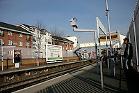Abbeywood train station in southeast London, UK