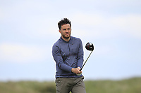 Gerard Dunne (Co.Louth) on the 9th tee during Round 2 of The East of Ireland Amateur Open Championship in Co. Louth Golf Club, Baltray on Sunday 2nd June 2019.<br /> <br /> Picture:  Thos Caffrey / www.golffile.ie<br /> <br /> All photos usage must carry mandatory copyright credit (© Golffile   Thos Caffrey)