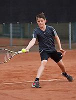 August 8, 2014, Netherlands, Rotterdam, TV Victoria, Tennis, National Junior Championships, NJK,  Jens Hoogendam (NED)<br /> Photo: Tennisimages/Henk Koster