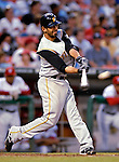 5 June 2007: Pittsburgh Pirates third baseman Jose Bautista in action against the Washington Nationals at RFK Stadium in Washington, DC. The Pirates defeated the Nationals 7-6, in the first game of their 3-game series...Mandatory Credit: Ed Wolfstein Photo