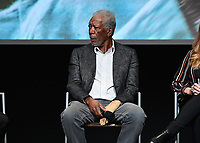 """LOS ANGELES - JUNE 5:  Morgan Freeman attends an FYC event for National Geographic's """"The Story of God"""" at the TV Academy on June 5, 2019 in Los Angeles, California. (Photo by Scott Kirkland/National Geographic/PictureGroup)"""