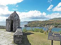 Fort Soledad overlooking Umatac Bay on the beautiful Island of Guam...