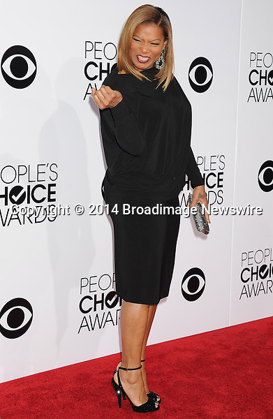 Pictured: Queen Latifah<br /> Mandatory Credit &copy; Gilbert Flores /Broadimage<br /> 2014 People's Choice Awards <br /> <br /> 1/8/14, Los Angeles, California, United States of America<br /> Reference: 010814_GFLA_BDG_212<br /> <br /> Broadimage Newswire<br /> Los Angeles 1+  (310) 301-1027<br /> New York      1+  (646) 827-9134<br /> sales@broadimage.com<br /> http://www.broadimage.com