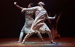 London UK 10th January 2019 Akram Khan's Company performing UNTIL THE LIONS Roundhouse London.  Akram Khan as Bheeshma Ching-Ying Chien as Amba Joy Alpuerto Ritter as Shikhandi