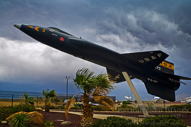 X-15 Rocket Plane on display at NASA Dryden Flight Research Center, Edwards Air Force Base, near Mojave, California