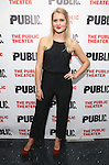 """Dani de Waal during the Off-Broadway Opening Night performance party for """"Plenty""""  at the Public Theatre on October 20, 2016 in New York City."""