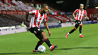 Bryan Mbeumo of Brentford in action during Brentford vs Swansea City, Sky Bet EFL Championship Play-Off Semi-Final 2nd Leg Football at Griffin Park on 29th July 2020