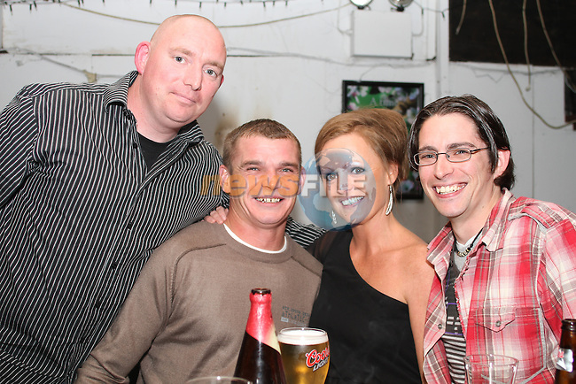 Stephen Collins, Brian Dowd, Alison Sullivan and Damien Collins in McPhails...Picture Jenny Matthews/Newsfile.ie