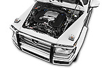 Car Stock 2016 Mercedes Benz G-Class G550 5 Door SUV Engine  high angle detail view