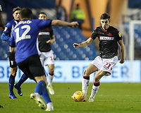 Bolton Wanderers' Joe Williams competing with Sheffield Wednesday's Jordan Thorniley <br /> <br /> Photographer Andrew Kearns/CameraSport<br /> <br /> The EFL Sky Bet Championship - Sheffield Wednesday v Bolton Wanderers - Tuesday 27th November 2018 - Hillsborough - Sheffield<br /> <br /> World Copyright &copy; 2018 CameraSport. All rights reserved. 43 Linden Ave. Countesthorpe. Leicester. England. LE8 5PG - Tel: +44 (0) 116 277 4147 - admin@camerasport.com - www.camerasport.com