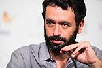 "The director of the film, Rodrigo Sorogoyen during press conference of the presentation of the film ""Que Dios Nos Perdone"" at Festival de Cine Fantastico de Sitges in Barcelona. October 14, Spain. 2016. (ALTERPHOTOS/BorjaB.Hojas)"