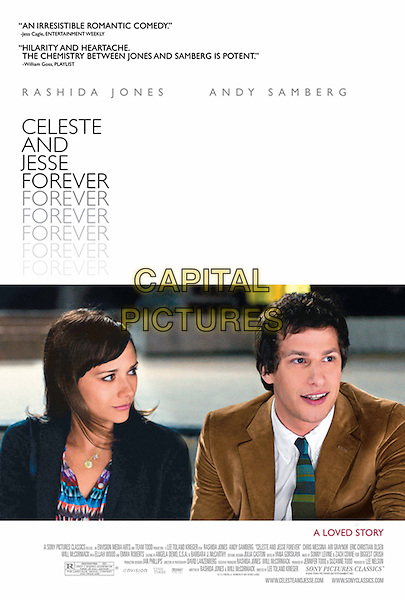 POSTER ART.in Celeste & Jesse Forever (2012).*Filmstill - Editorial Use Only*.CAP/FB.Supplied by Capital Pictures.