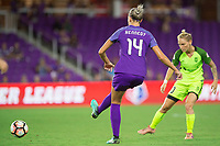 Orlando, FL - Thursday September 07, 2017: Alanna Kennedy during a regular season National Women's Soccer League (NWSL) match between the Orlando Pride and the Seattle Reign FC at Orlando City Stadium.