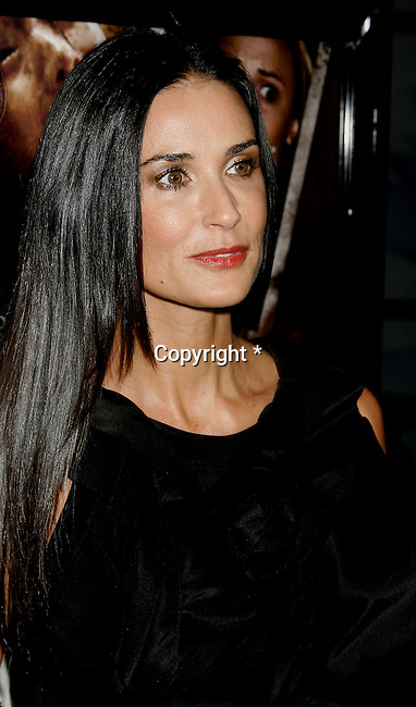 """HOLLYWOOD, CA. - September 03: Demi Moore arrives at the Los Angeles premiere of """"Sorority Row"""" at the ArcLight Hollywood theater on September 3, 2009 in Hollywood, California."""