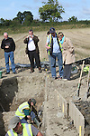 Mairead McGuinness, MEP at the Site where archaeologists believe they have found the remains of a huge Viking fortress near the village of Annagassan in Co Louth..Picture Jenny Matthews/Newsfile.ie