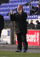 St Mirren Assistant Manager Tommy Craig gives instructions in the Inverness Caledonian Thistle v St Mirren Scottish Professional Football League Premiership match played at the Tulloch Caledonian Stadium, Inverness on 29.3.14.