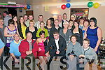 21st Birthday Bash: Aimee Conway, Derevrin, Abbeydorney, third from left front, celebrating her 21st birthday with family & Friends at the Railway Bar in Lixnaw on Saturday night last.