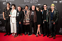 Cast of 'El hombre que mato a Don Quijote' (The man who killed Don Quixote) at Dore Cinemas in Madrid, Spain. May 28, 2018. (ALTERPHOTOS/Borja B.Hojas) /NortePhoto.com