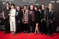 Cast of 'El hombre que mato a Don Quijote' (The man who killed Don Quixote) at Dore Cinemas in Madrid, Spain. May 28, 2018. (ALTERPHOTOS/Borja B.Hojas) /NortePhoto.com