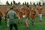Eton Wall game being played UK