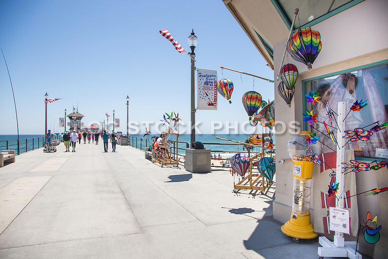 Specialty Gift Store on the Huntington Beach Pier
