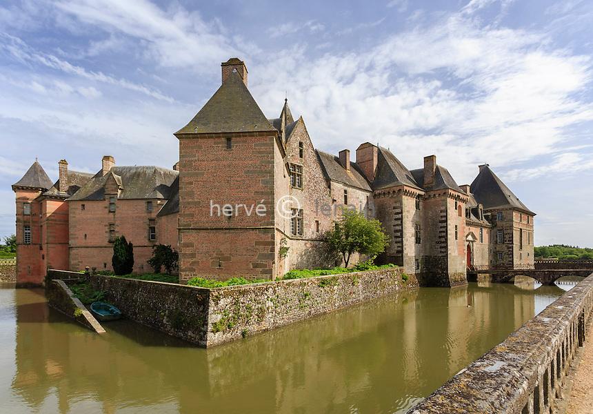 France, Orne (61), Carrouges, le château // France, Orne, Carrouges, Carrouges castle