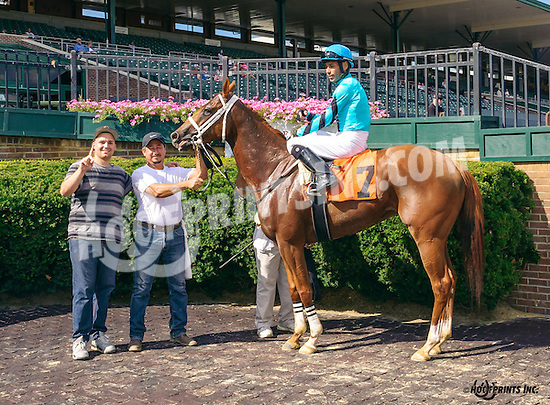 Zouzou winning at Delaware Park on 8/3/16