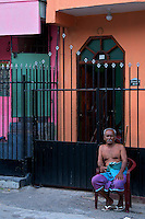 Colorful House Colombo near the Hindu Temple,Sri Lanka