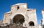Ruins of Las Angustias church in Alhama de Granada, Spain
