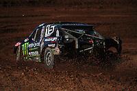 Apr 16, 2011; Surprise, AZ USA; LOORRS driver Marty Hart (15) during round 3 at Speedworld Off Road Park. Mandatory Credit: Mark J. Rebilas-