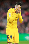 Atletico de Madrid's Jose Maria Gimenez during La Liga match. March 4,2018. (ALTERPHOTOS/Acero)