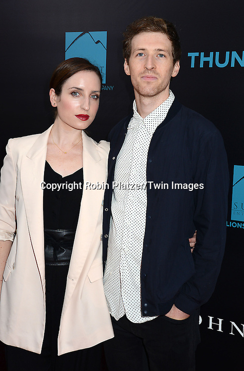 Zoe Lister-Jones and Daryl Wein attend the Special Screening of &quot;John Wick&quot;  on October 13, 2014 at the Regal Union Square Stadium 14 in New York City.<br /> <br /> photo by Robin Platzer/Twin Images<br />  <br /> phone number 212-935-0770
