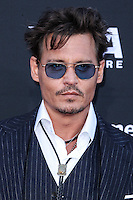 ANAHEIM, CA - JUNE 22: Johnny Depp attends The World Premiere of Disney/Jerry Bruckheimer Films' 'The Lone Ranger' at Disney California Adventure Park on June 22, 2013 in Anaheim, California. (Photo by Celebrity Monitor)