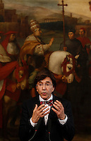 Il Primo Ministro belga Elio Di Rupo durante una conferenza stampa congiunta con il Presidente del Consiglio italiano a Palazzo Chigi, Roma, 20 giugno 2013.<br /> Belgian Prime Minister Elio Di Rupo during a joint press conference with Italian Premier at Chigi Palace, Rome, 20 June 2013.<br /> UPDATE IMAGES PRESS/Isabella Bonotto